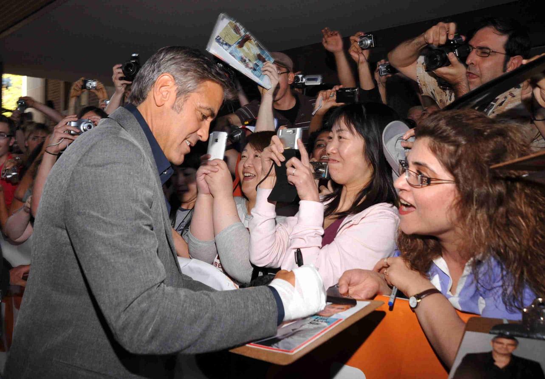 George Clooney à la première de \
